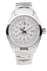Abingdon Amelia in Cloud White/Stainless Steel Watch