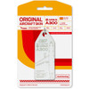 AviationTag Airbus A300 Keychain  -  - White