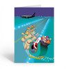 """Airport Runway Landing"" Christmas Card Pack"