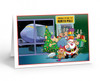 """""""North Pole Airport Arrival"""" Christmas Card Pack"""