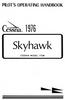 Cessna C-172M Pilot Operating Handbook
