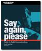 Say again, please 6th edition