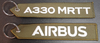 Embroidered Keychain - Airbus A330 MRTT
