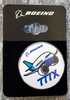 Lapel pin - Boeing 777X Pudgy Circle
