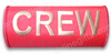 CREW Embroidered Handle Wrap (Pink)