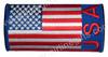 USA Flag Embroidered Handle Wrap