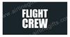 Flight Crew Embroidered Handle Wrap (Dark Blue/Black)