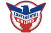 Continental Retro Iron Patch