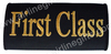 First Class Embroidered Handle wrap