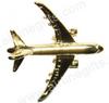 Lapel pin - Boeing 787 - Gold Finish