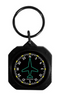 Square Directional Gyro Instrument Keychain