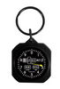 Square Classic Altimeter Instrument Keychain
