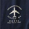 Boeing 3D Logo Long Sleeve T-Shirt
