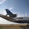 AviationTag Douglas DC-10-30 Keychain - N326FE - Blue
