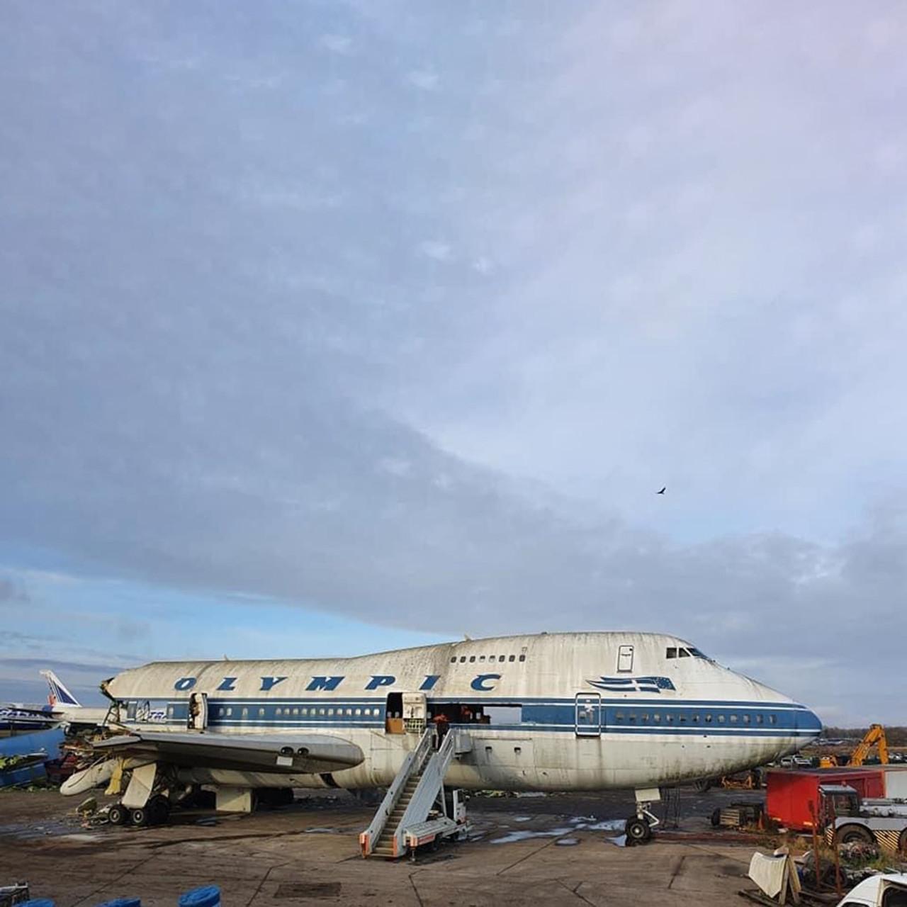 AviationTag Boeing 747-200 Keychain  - SX-OAD