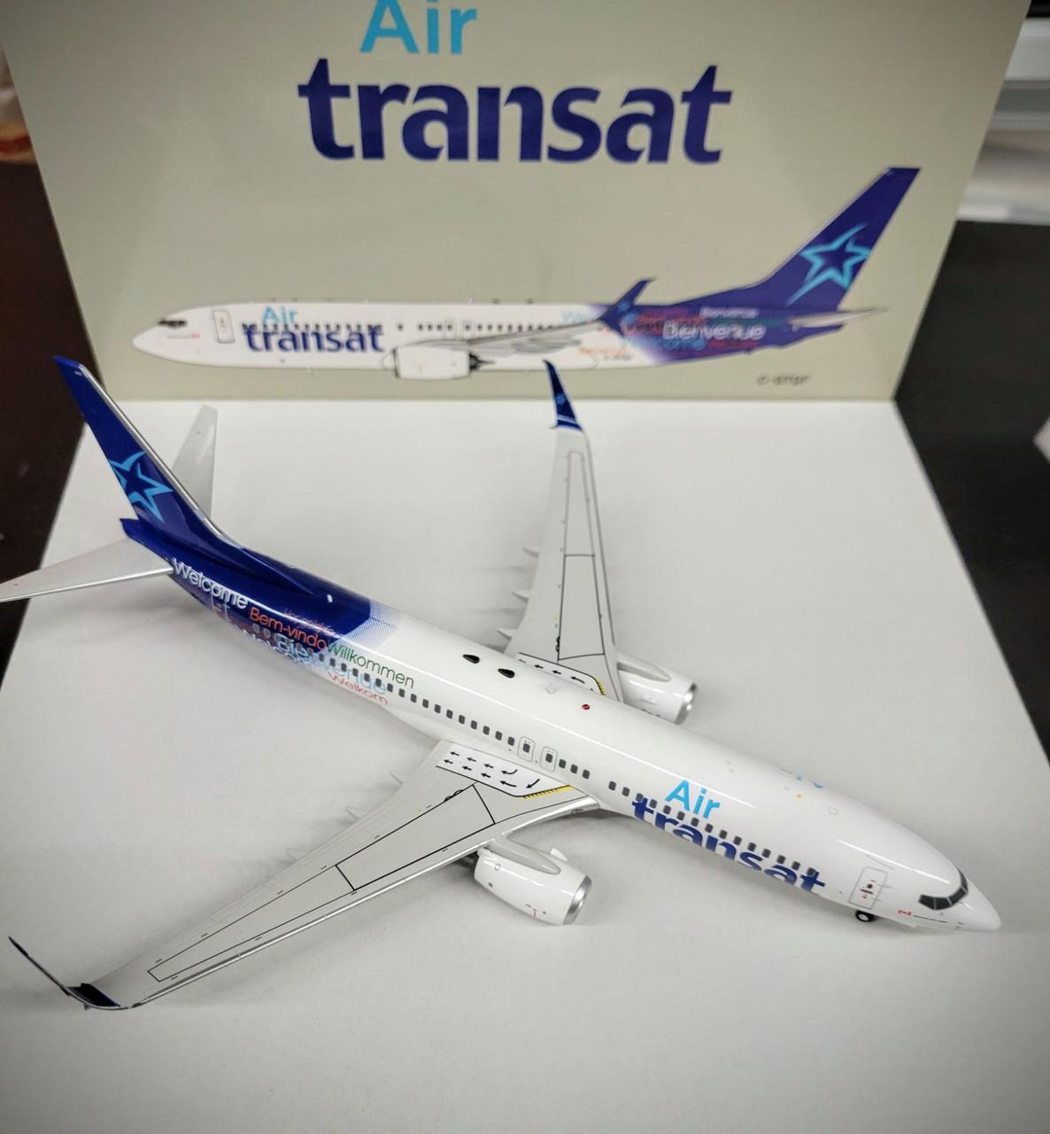 *DAMAGED MODEL* Inflight200 1:200 Air Transat 737-800 Split Scimitars