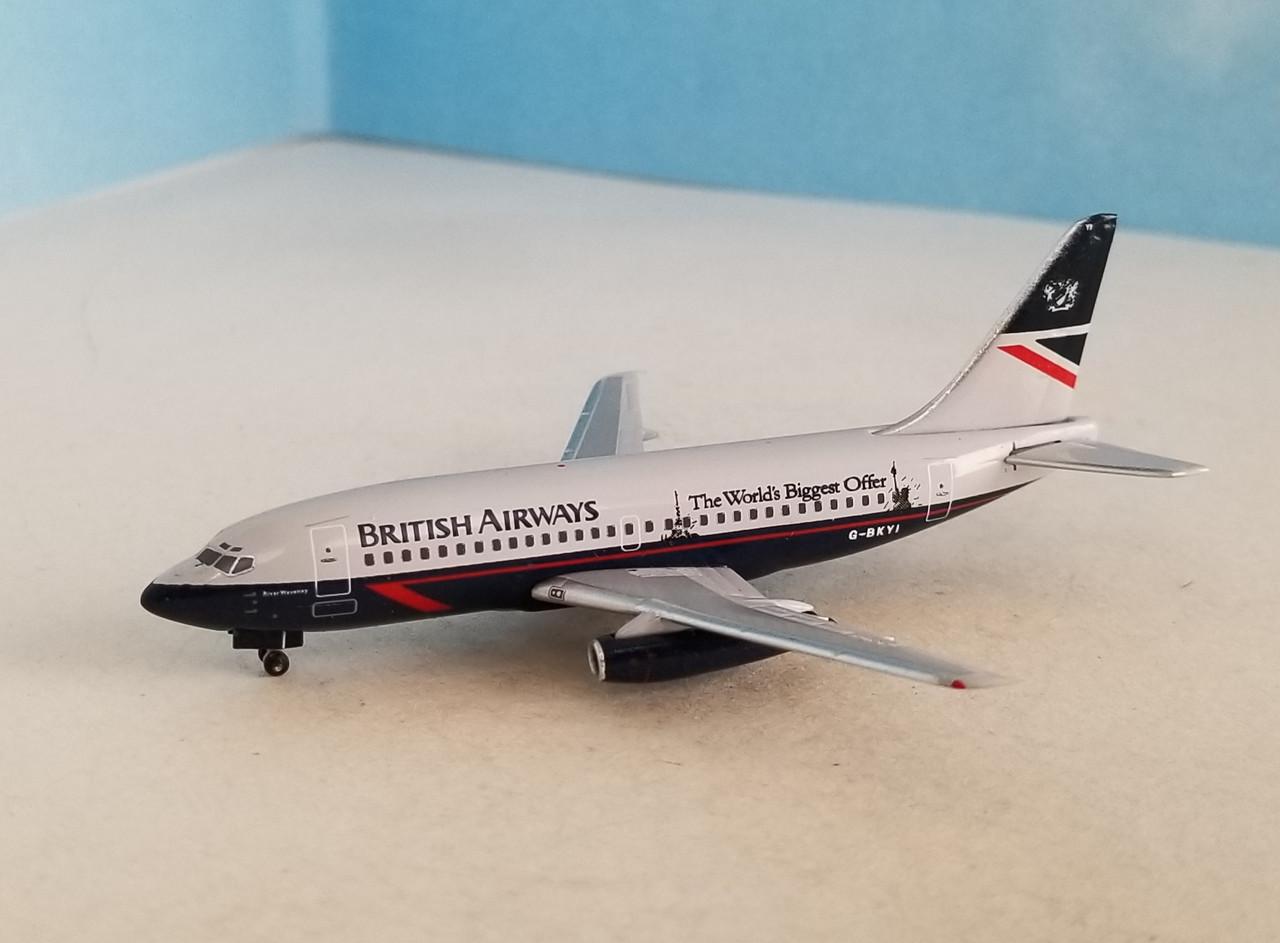 """Aeroclassics 1:400 British Airways 737-200 """"Biggest Offer"""""""