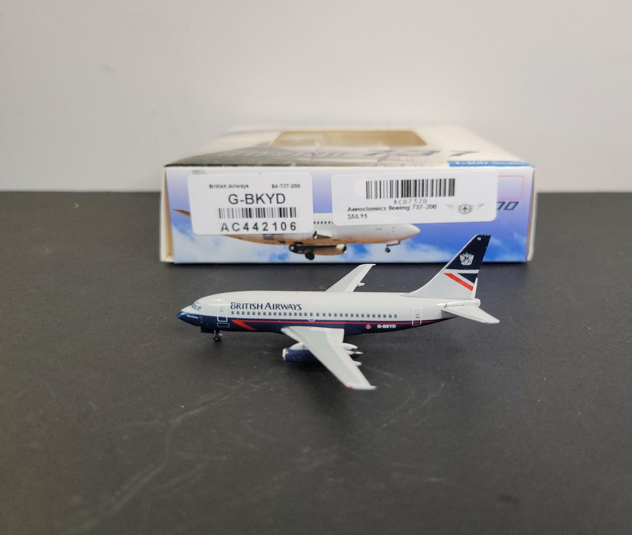 Aeroclassics 1:400 British Airways 737-200 (Landor Livery)