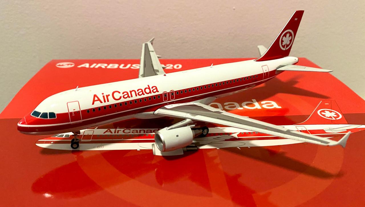 "JC200 Air Canada A320 ""Red Stripe Livery"""
