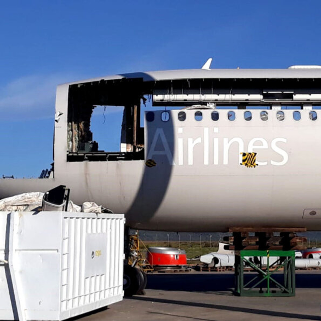 AviationTag Airbus A340-300 Keychain  - LN-RKG