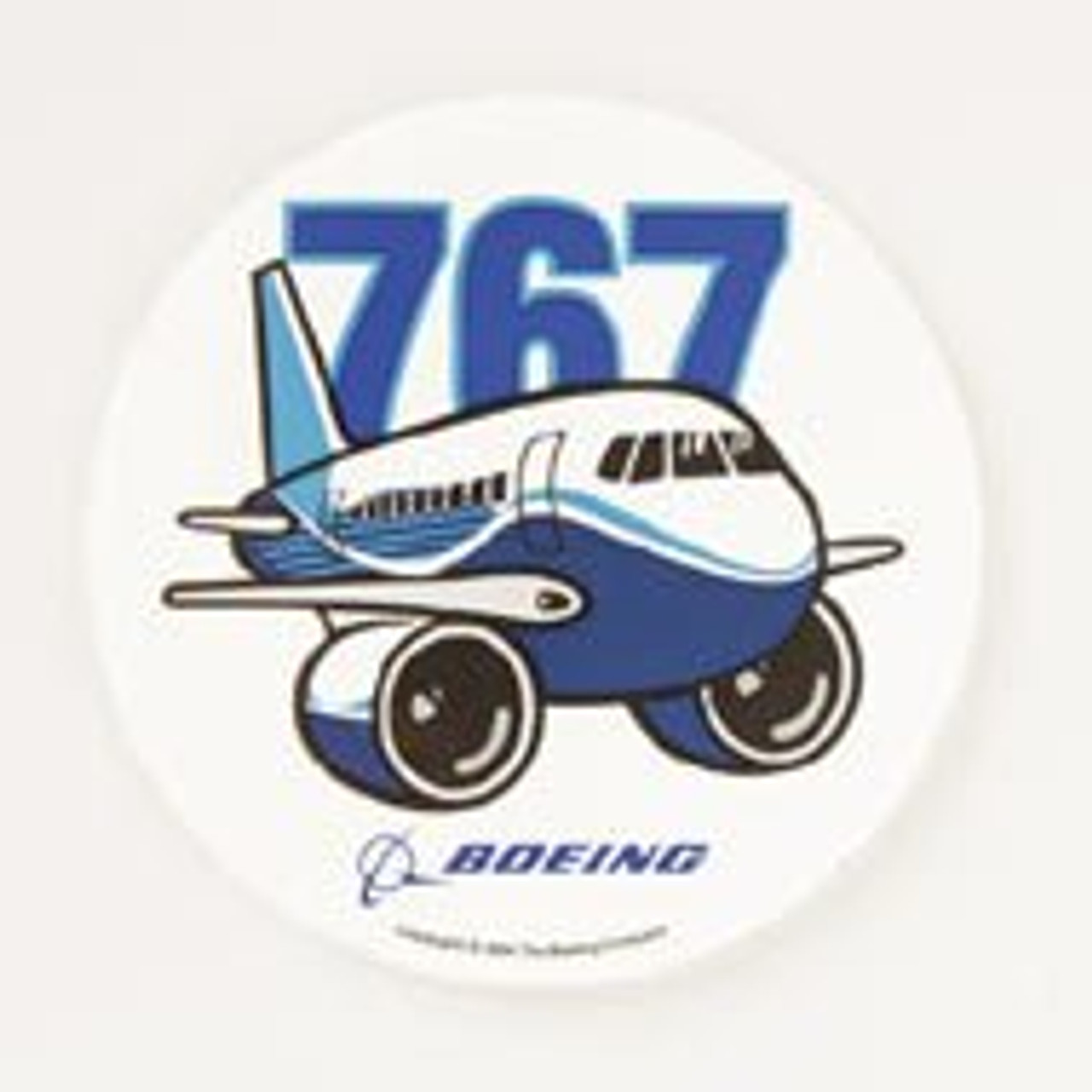767 Pudgy Sticker