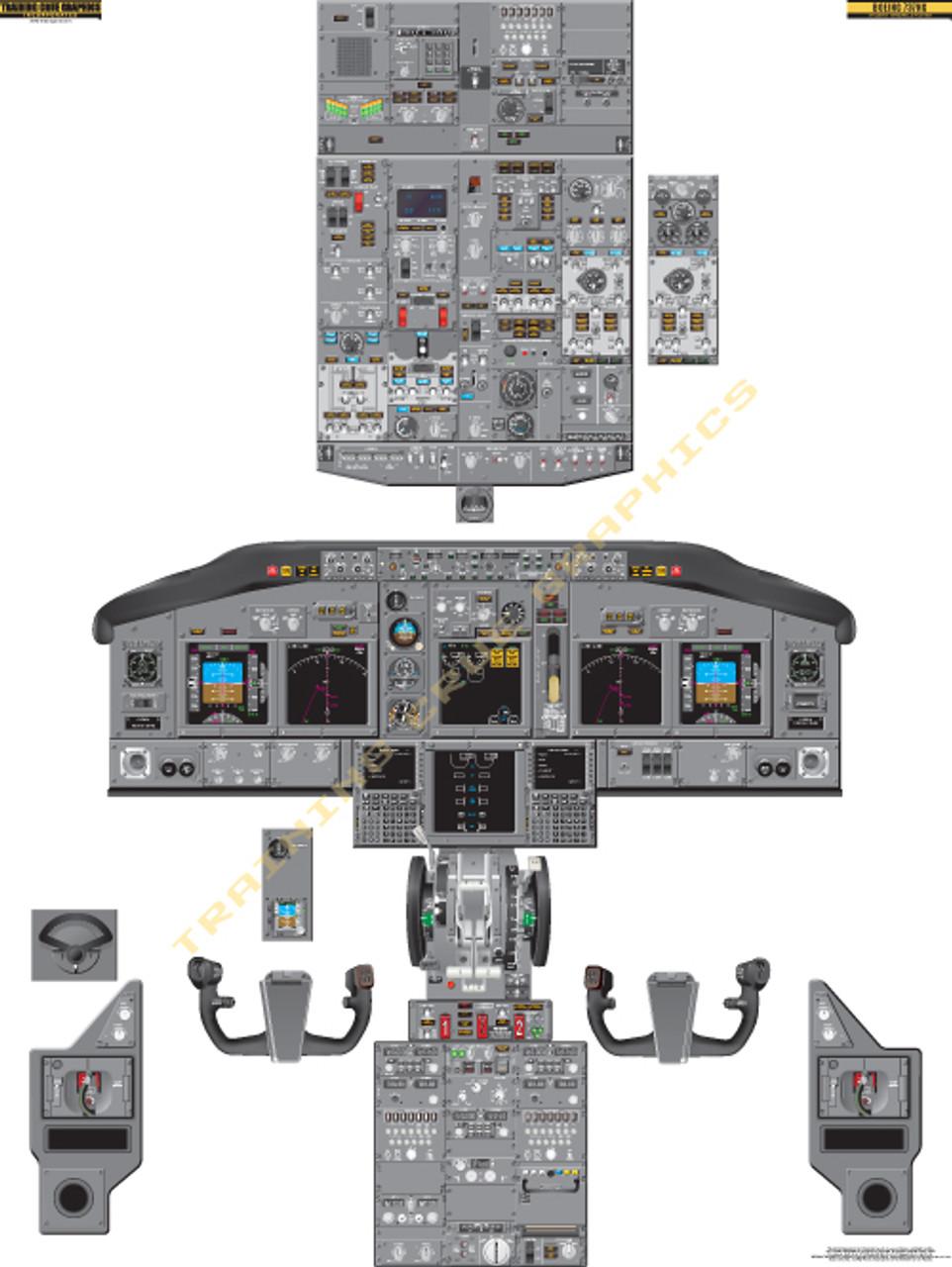 Boeing 737-800 NG Poster