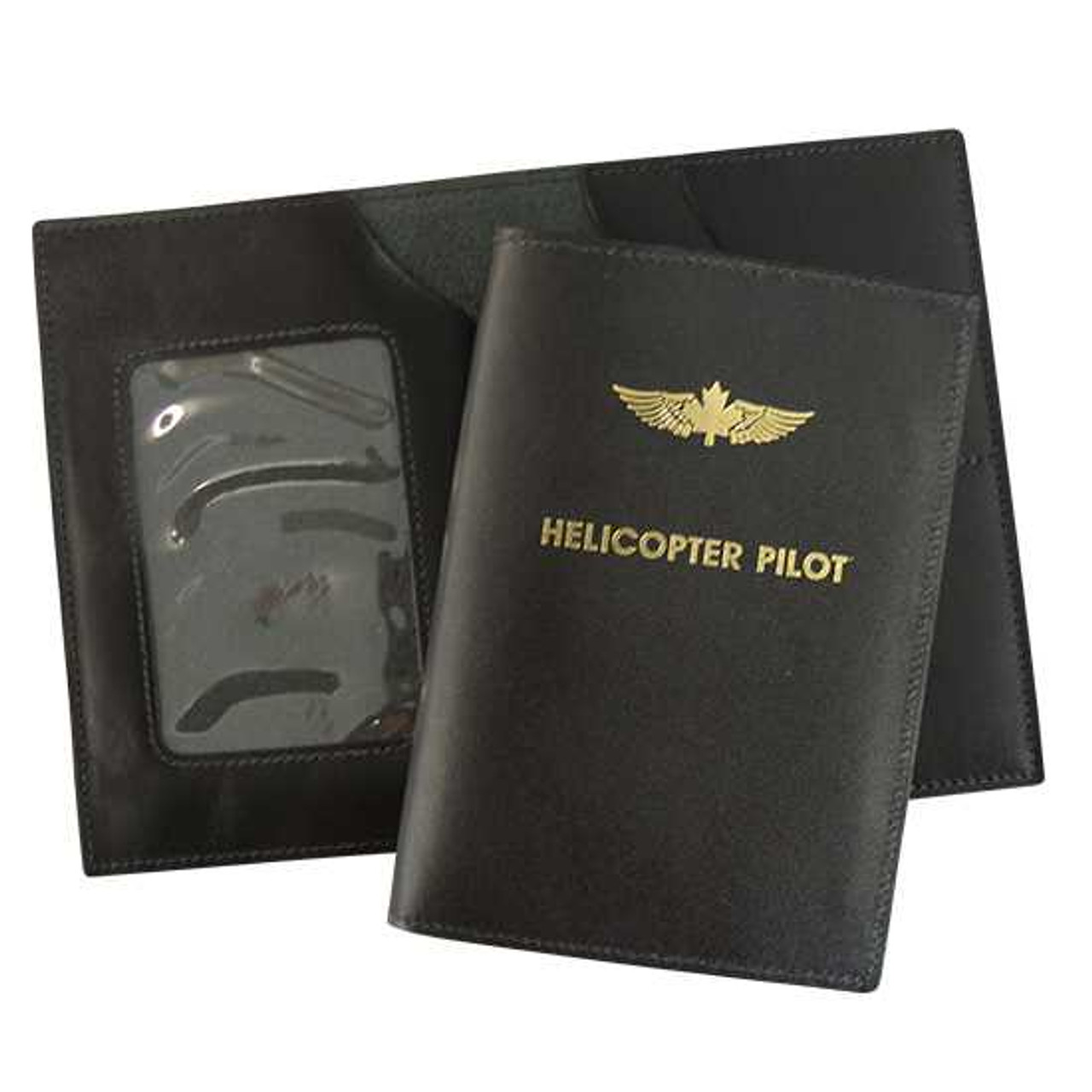 Helicopter Pilot License Wallet