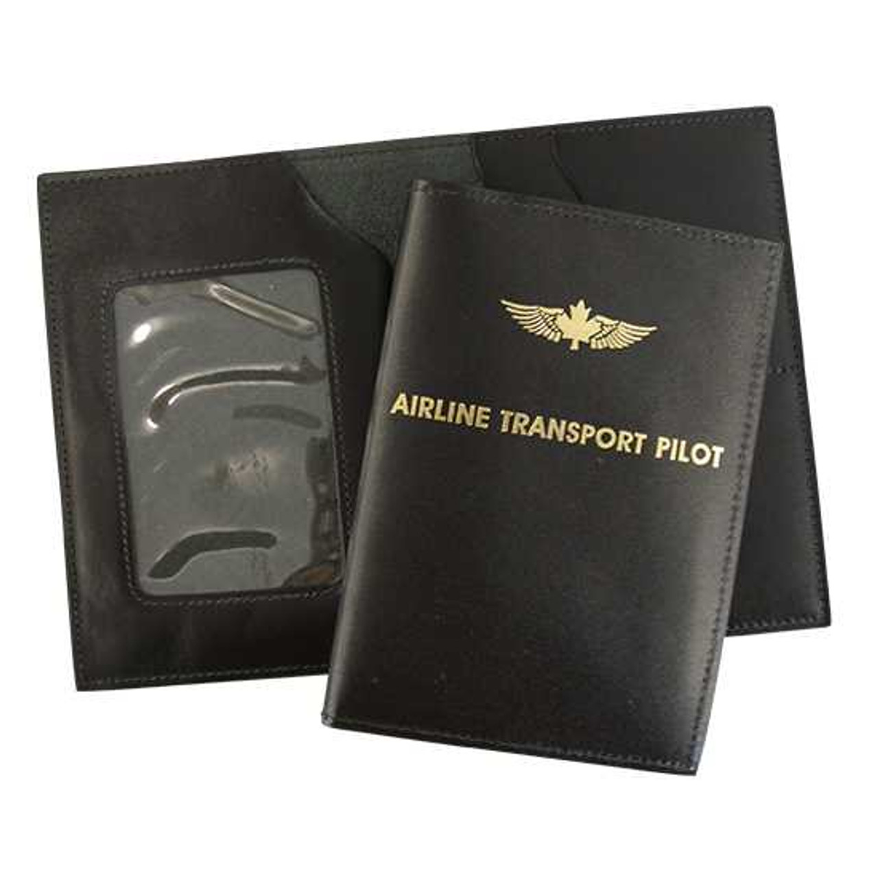 Leather Airline Transport Pilot License Wallet