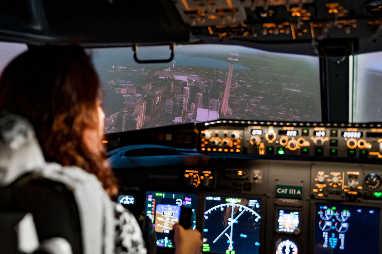 737NG Simulator - 1 Hour Scenic Flight