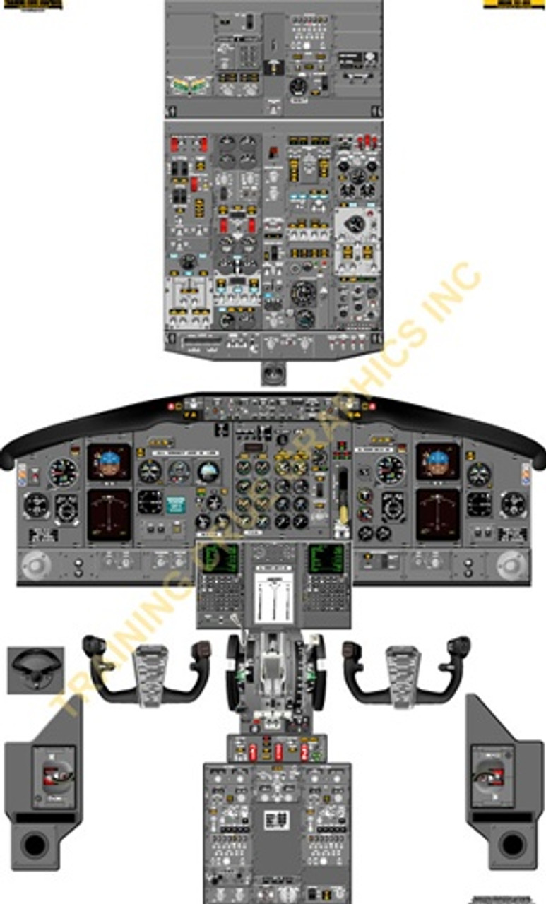 Boeing 737-300 Poster