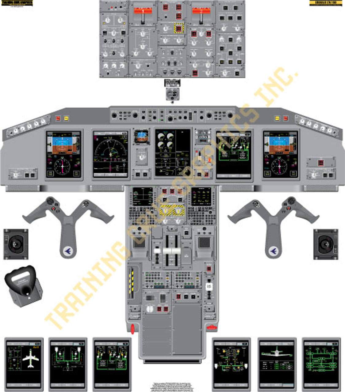 Embraer 170/190 Poster