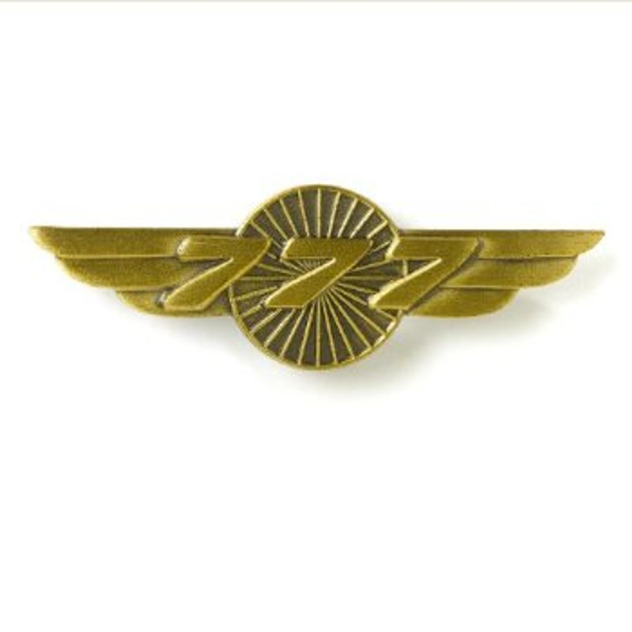 777 Wings Pin