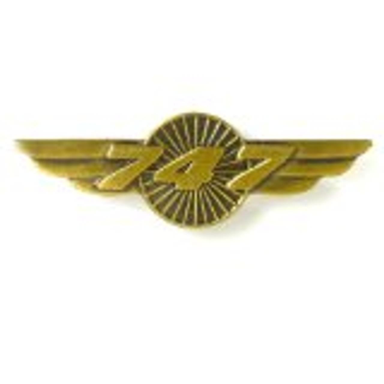 747 Wings Pin
