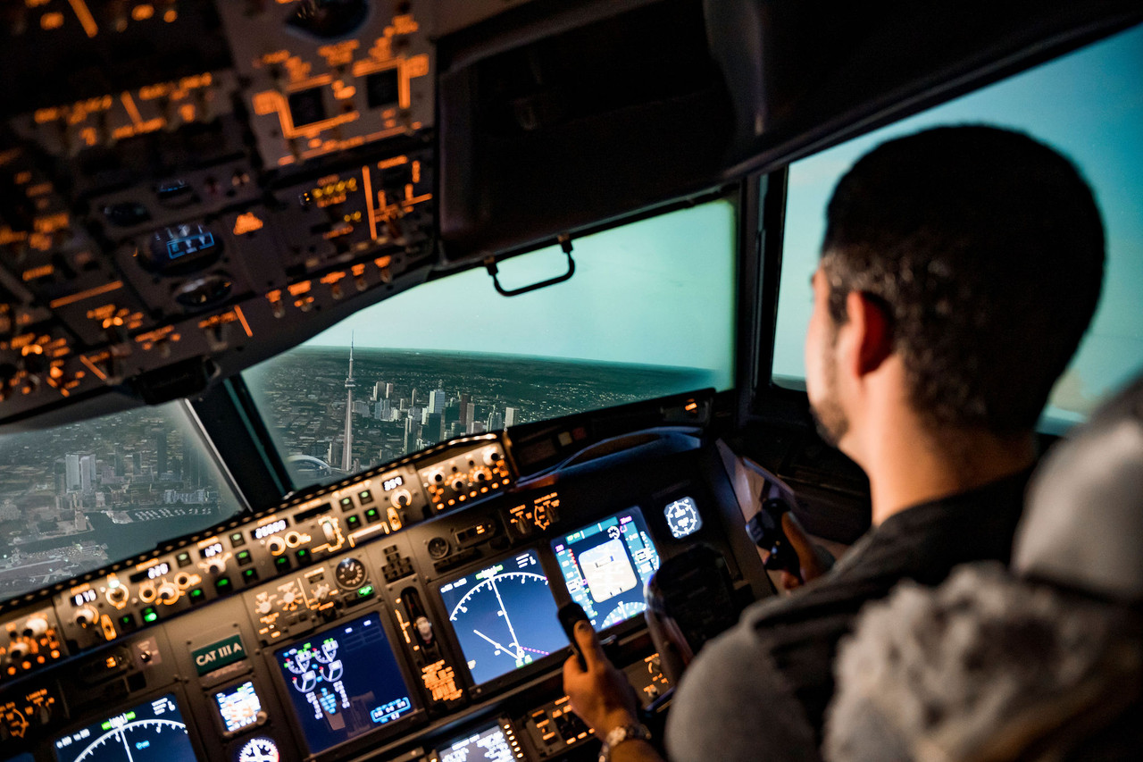 737NG Simulator - 1.5 Hour Airliner Experience