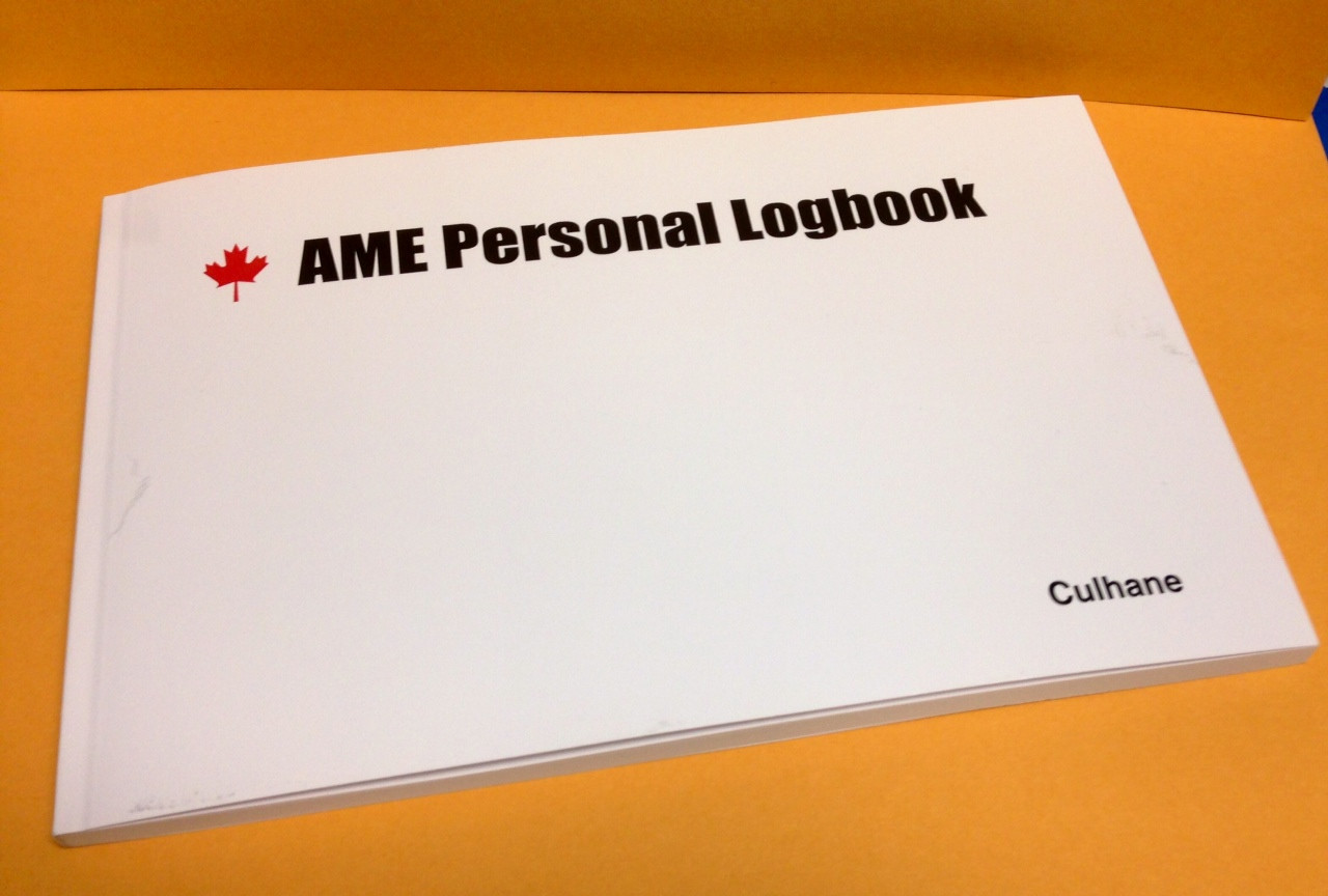AME Personal Logbook (Softcover)