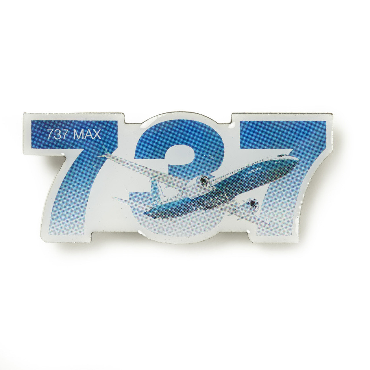 Boeing 737 MAX Sky Pin