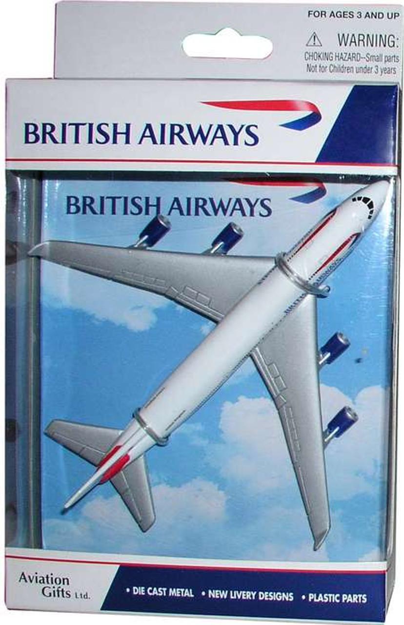British Airways Single Plane