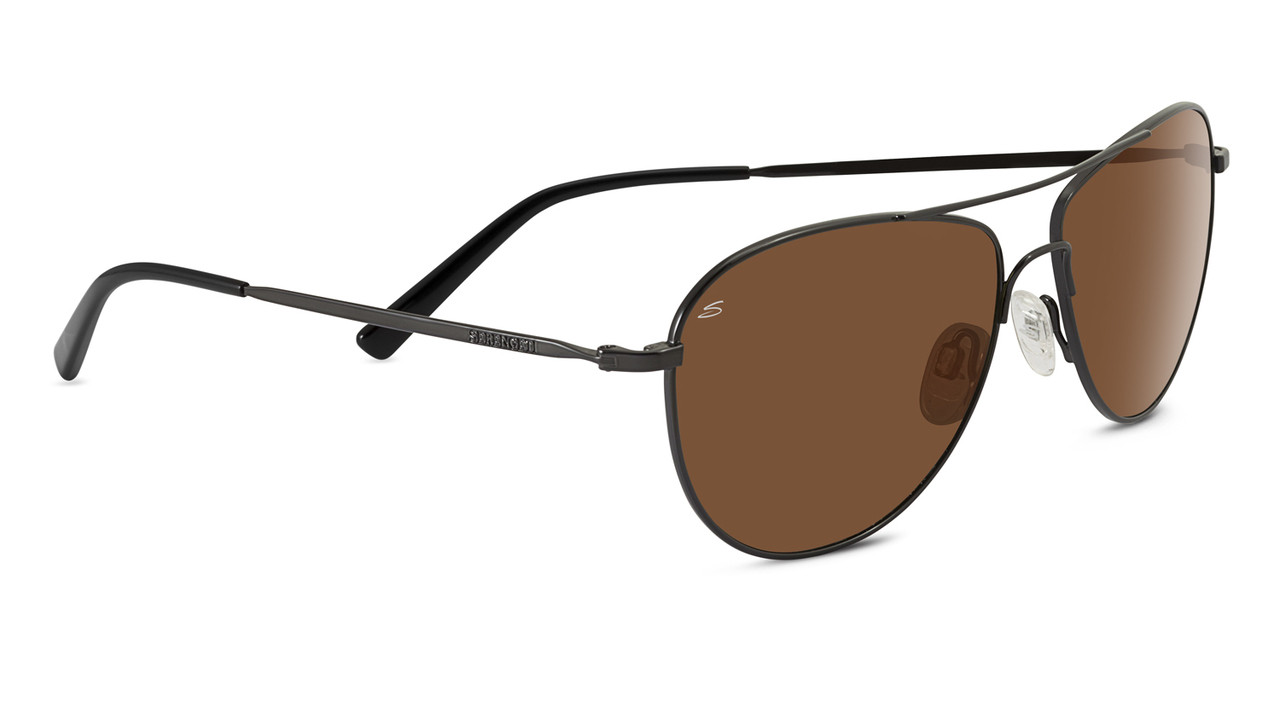 Serengeti Alghero Satin Dark Espresso Drivers Non Polarized