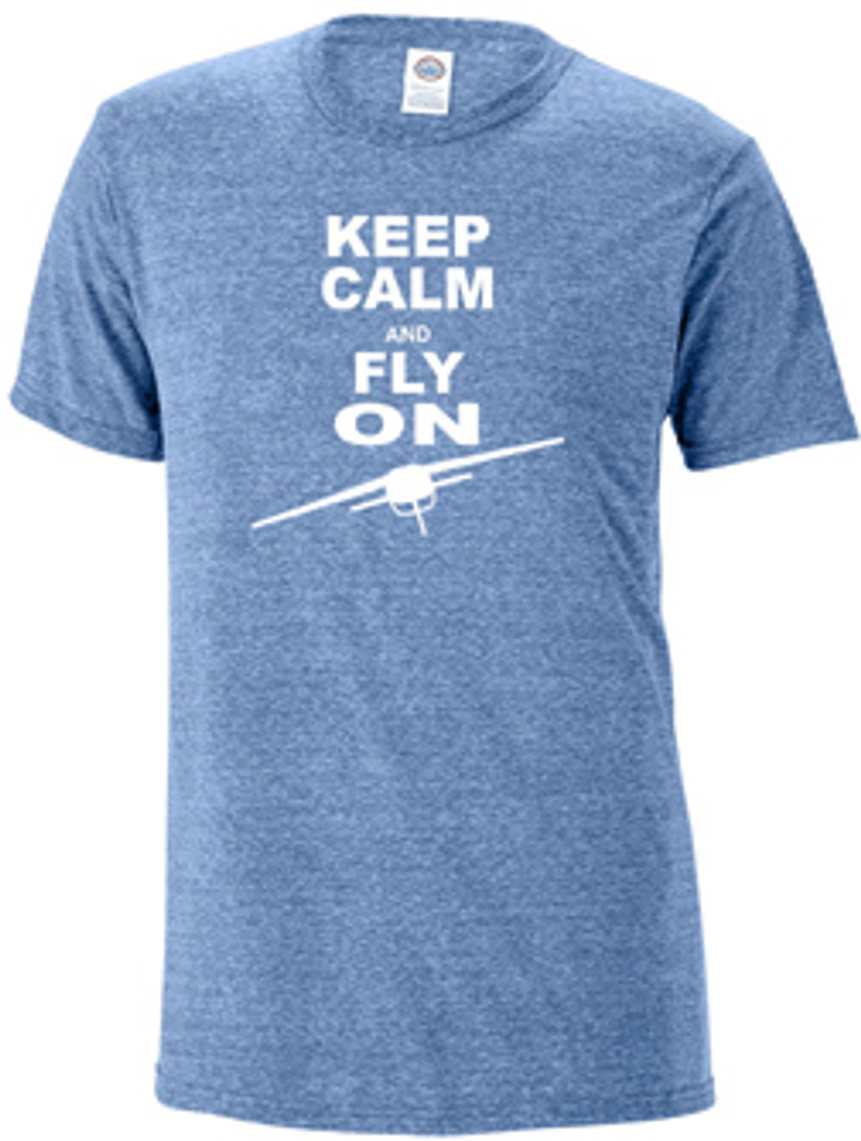 """Keep Calm and Fly On"" Tee-Shirt"
