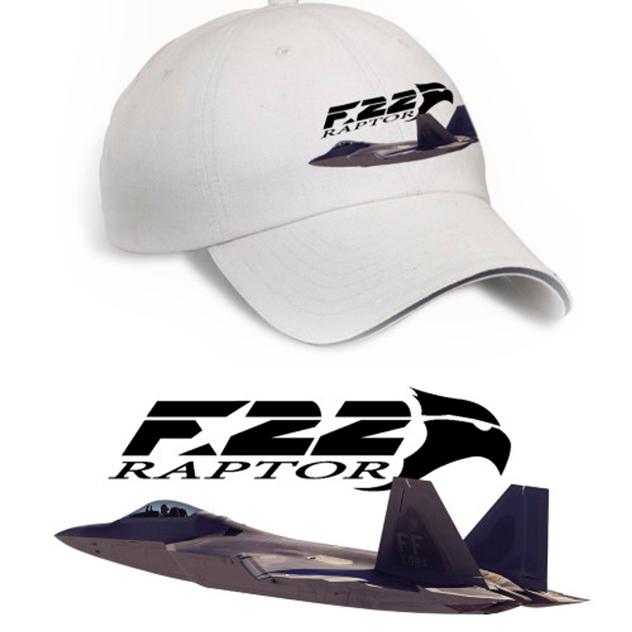 F-22 Raptor Hat (Stone)