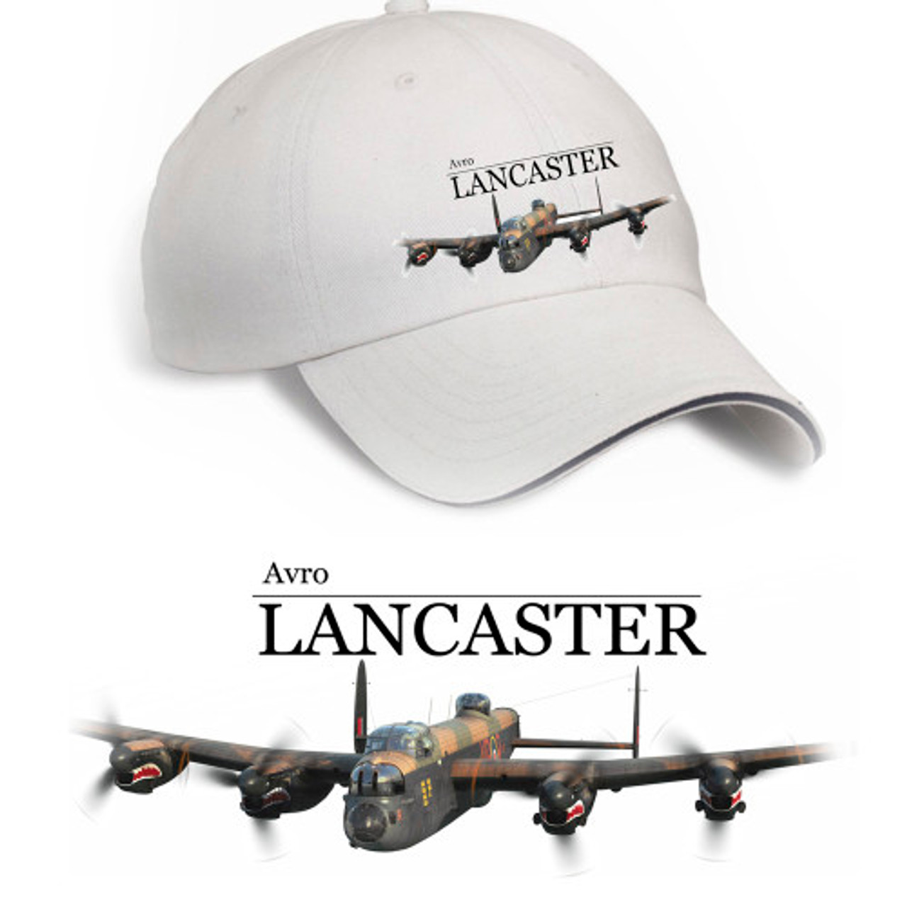 3097083f1ac Avro Lancaster Hat (Stone) - Threshold Aviation Inc.