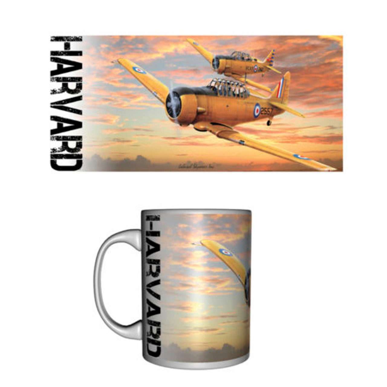 North American Harvard Ceramic Mug