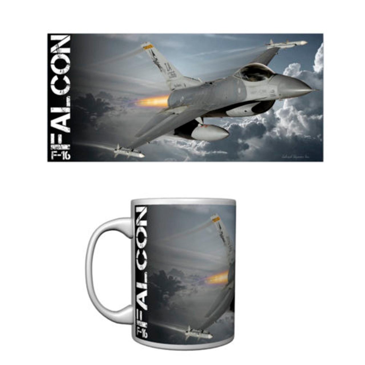 F-16 Falcon Ceramic Mug