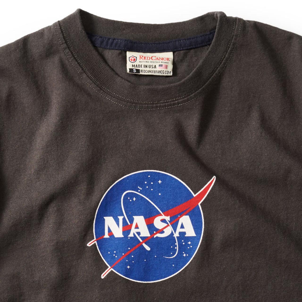 NASA Logo Shirt (Slate)