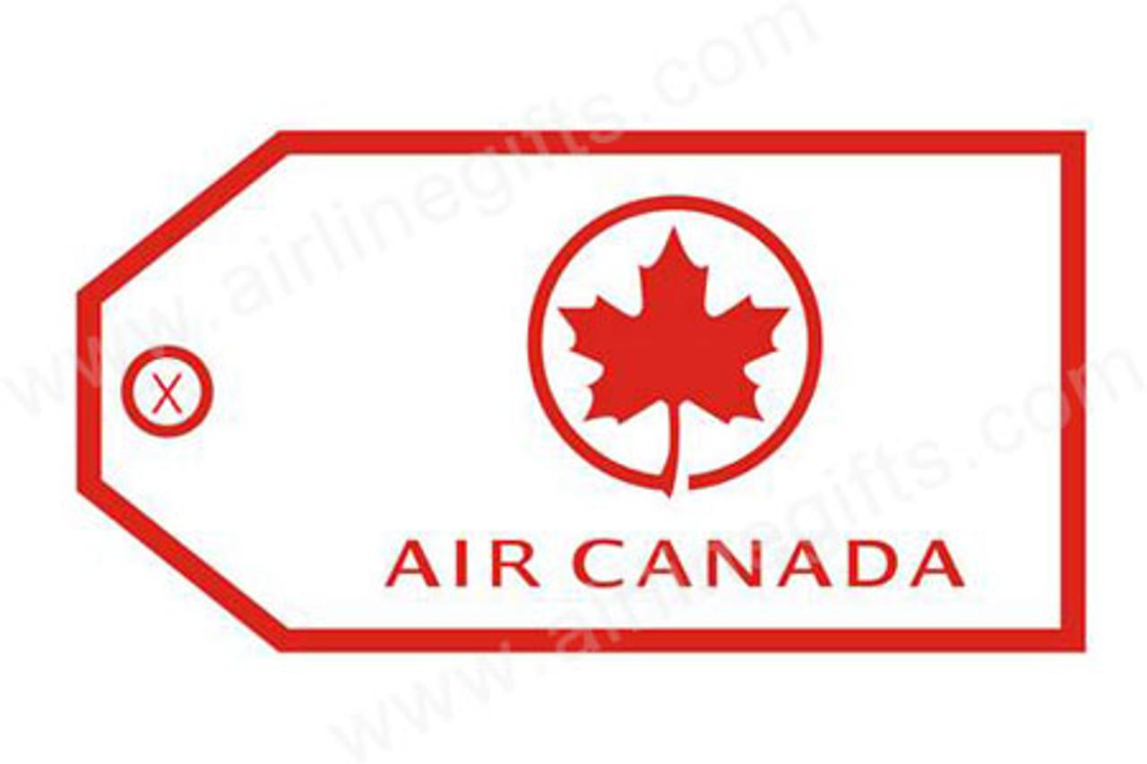 Air Canada Luggage Tag (Red)