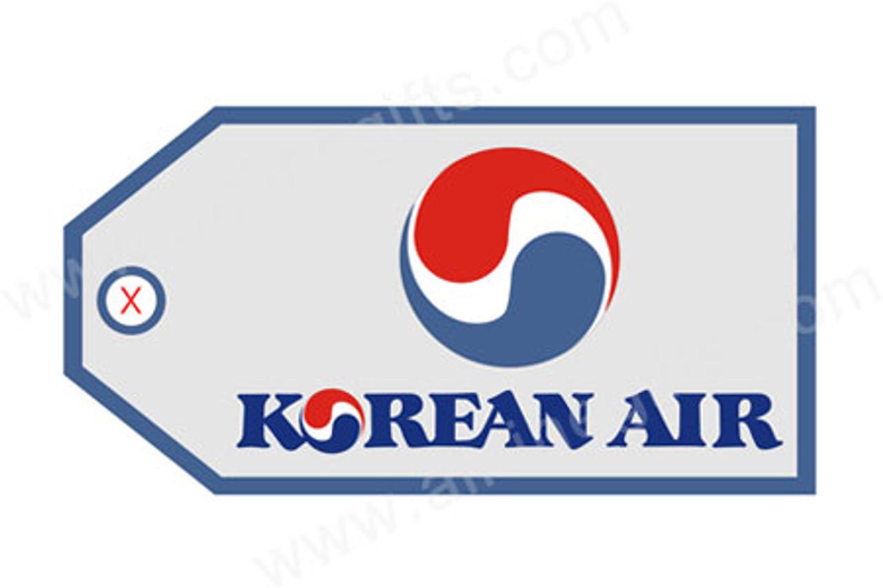 Korean Air Luggage Tag