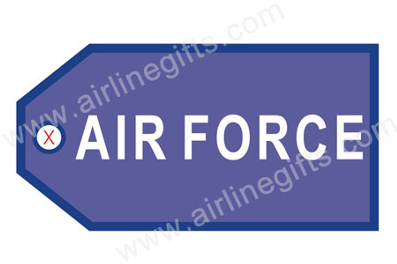 Air Force Luggage Tag