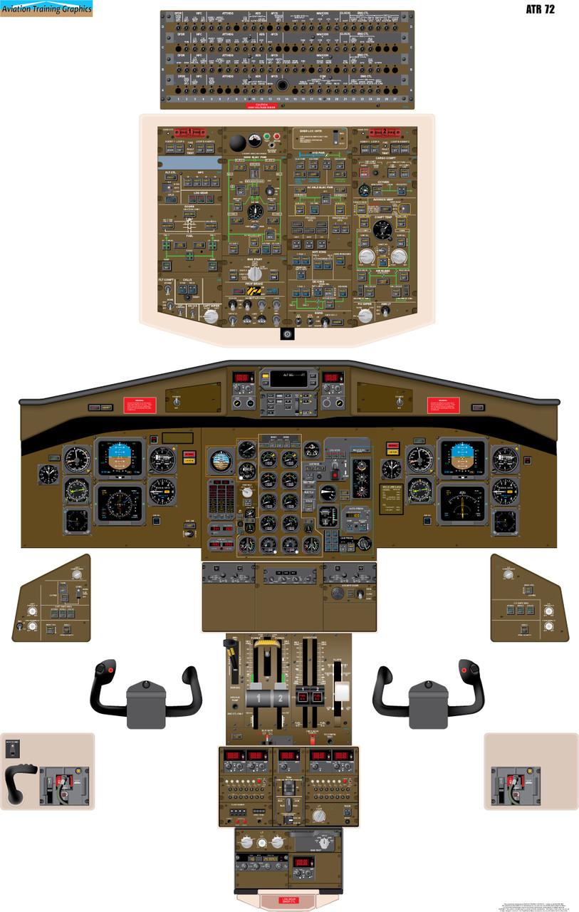 ATR-72 Poster