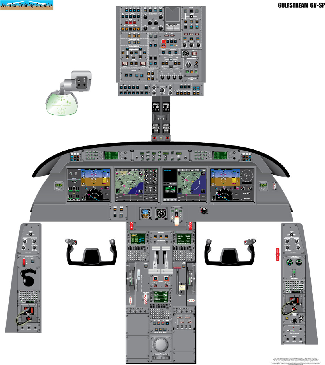 Gulfstream GV-SP Poster