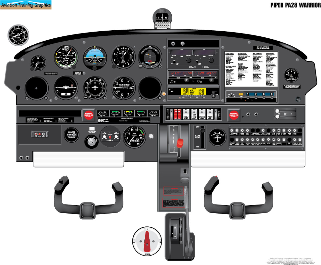 Piper PA28 Warrior Poster